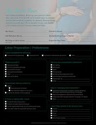 How To Plan Baby Birth Date Baby Birth Plan Templates At Allbusinesstemplates Com