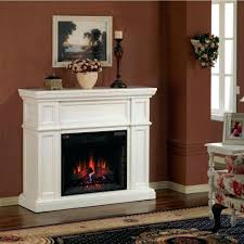 Antique White Electric Fireplace Tv Stand Mantel Canada Corner Heater