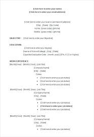 Resume Format Job Resume Format Samples Sample Word College Student ...