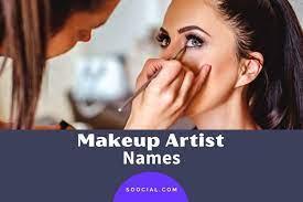 293 makeup artist name ideas to get you