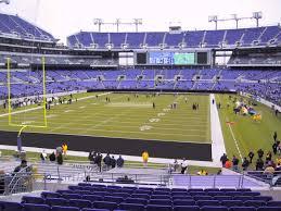 Ravens Stadium Interactive Seating Chart M T Bank Stadium View From Lower Level 111 Vivid Seats