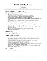 Resume For Dentist Job Best Of Dental Resume Format Dentist Resume Format Dental Resumes Samples
