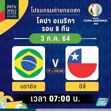 ลุ้นเชียร์2ทีมเต็ง! พีพีทีวียิงสดโคปา อเมริกา2021รอบ8