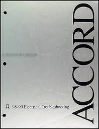 1998 1999 honda accord electrical troubleshooting manual original