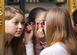 q my 10 year old daughter has suddenly bee obsessed with makeup it seems to have gone beyond playing dress up to wanting to be older