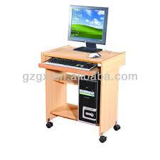 desktop computer table. GX-150 Small Size Wooden Computer Table Desktop