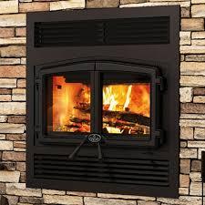 osburn stratford zero clearance wood stove fireplace