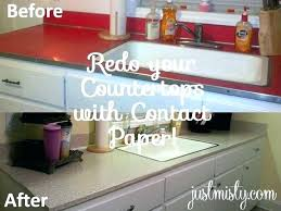 contact paper countertops my bathroom covered