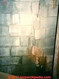 cinder block wall cost cost of concrete block wall cinder block wall severe vertical break in cinder block wall cost