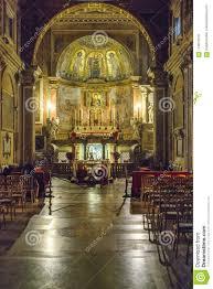 Santa Francesca Romana Basilica Interior View Redaktionelles Stockfoto -  Bild von view, santa: 115615518