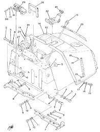 1979 yamaha enticer 340 et340c steering gate parts best oem steering gate parts diagram for