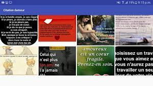 Citation d'amour for Android - APK Download