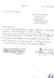 formal handwritten letter format flionis v bartlett and another 546 04 2006 zasca 23 2006 3 sa