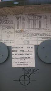 Allen Bradley Motor Starter Size Chart Motor Heater Chart Allen Bradley Overload Chart