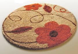 captivating round bath rugs decorative bath rugs round flower bath rug decorative area
