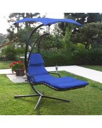 outdoor furniture swing chair. Patio Swing Chair Chaise Lounger Helicopter Hammock Sun Canopy Outdoor, Blue Outdoor Furniture R