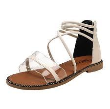 Romans Clothing Size Chart Women Clear Roman Sandal Ladies Open Toe Lace Up Ankle