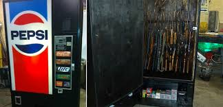 Used Pepsi Vending Machines Impressive Soda Machine Gun Safes 48 Brands BEACH