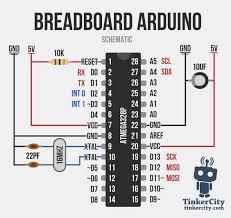 schematic to breadboard the wiring diagram breadboard arduino wiring schematic elektronik arduino schematic