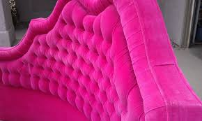 Full Image for Bedding Sets Pink Tufted Headboard 34 Hot Pink Tufted  Headboard Stylish Bedroom ...
