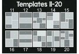 Picture Collage Templates Free Download Photo Collage Layout Layouts Template 9 Picture 4 Photoshop