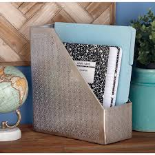 Wide Magazine Holder 100 in x 100 in Decorative Silver Iron Magazine Holder100 The 50