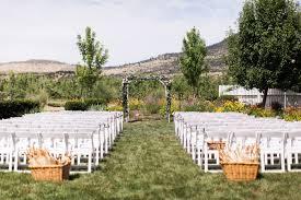 romantic outdoor orchard wedding ceremony stylemepretty
