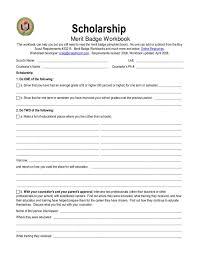 Scholarship Merit Badge Worksheet Free Worksheets Library ...