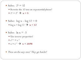 solving math exponents equations with exponential using logarithms base 2 exponent solution