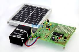 Solar Powered LED Street Light With Auto Intensity Control  This Solar Light Project