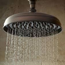 bronze shower arm nozzle wall mount rainfall shower head with s style shower arm oil delta shower arm and bronze