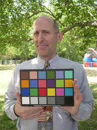 Macbeth Color Chart People Holding A Macbeth Colour Chart