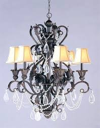 good crystal and wrought iron chandeliers or chandelier enchanting