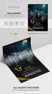 Halloween Dance Flyer Templates Halloween Premium Psd Flyer Template