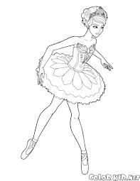 Disegni Da Colorare Barbie Ballerina Con Immagini Belle Da Colorare