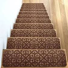 carpet anti slip pad the best carpets for stairs in reviews ing guides 9 stair treads set of non rubber runner mats or rug tread