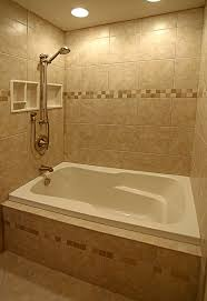Small Picture Bathroom Tile Ideas With Tub Love All The Tileand The Showertub