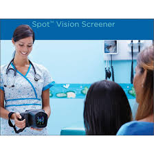 Welch Allyns Spot Vision Screener With Carrying Case