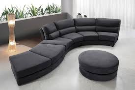 ... Two Sofa Round Sectional Sofa Circular Elegant Lamp And Plant  Decoration Grey Colour Seat Circle Coffee ...