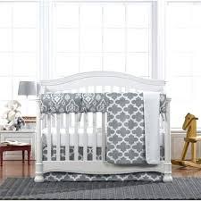 gray trellis 4 piece crib bedding nursery chevron elephant baby p