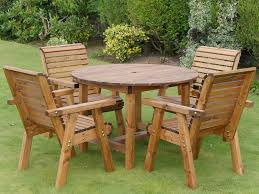 dales 1 13m round garden table sets