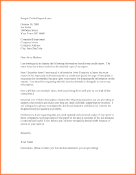 sample letter to remove items from credit report credit dispute letter best business template within dispute credit report letter