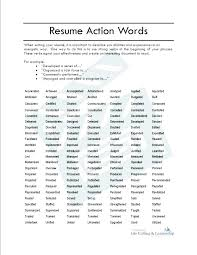 Action Verbs For Resumes Stunning Resume Cover Letter Keywords Resume Keywords And Phrases Cover