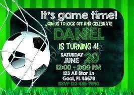Soccer Party Invitation Template Football Party Invitation Template Zoli Koze