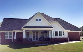 Architectural Designs House Plan WG Comes to Life in Alabama    Architectural Designs House Plan WG Comes to Life in Alabama farmhouse exterior