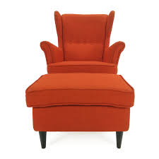 ikea wing chair and footstool ikea accent chairs