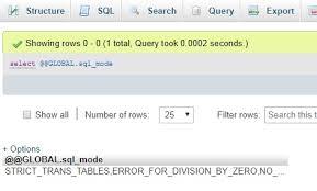 mysql how to fix error 1364 field