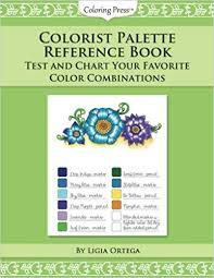Favorite Color Chart Colorist Palette Reference Book Test And Chart Your