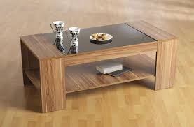 White Wood Coffee Table With Drawers Coffee Table Fascinating Wood With Glass Top Coffee Table