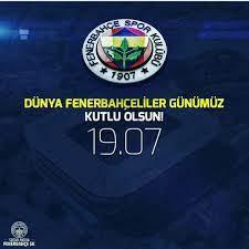 Fenerbahçe Cumhuriyeti — Dünya #fenerbahçeliler günü kutlu olsun.